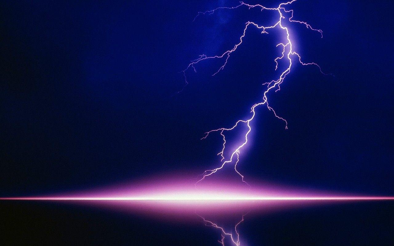 Images For > Blue Lightning Bolt Wallpaper
