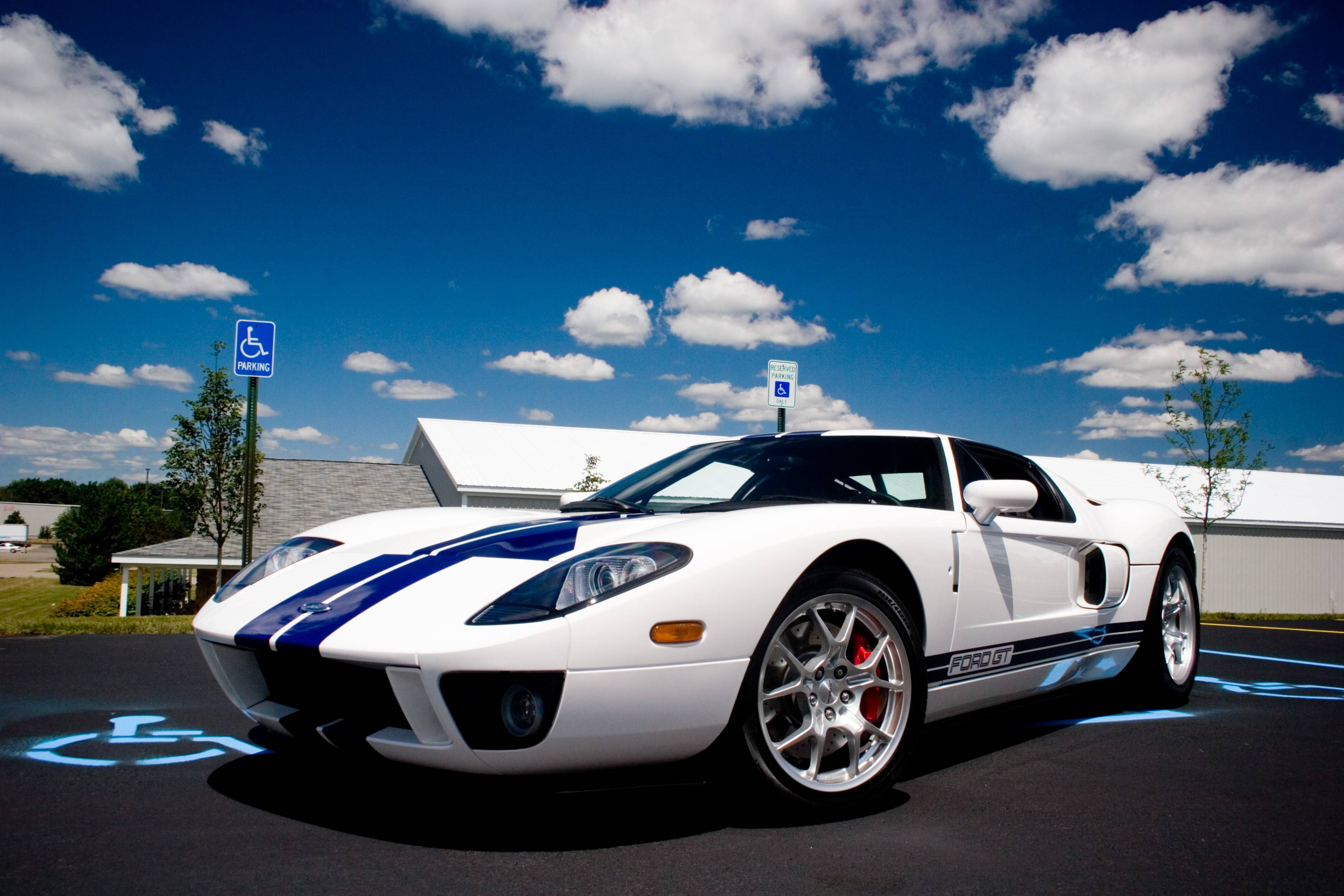 ford gt blue wallpaper - photo #31