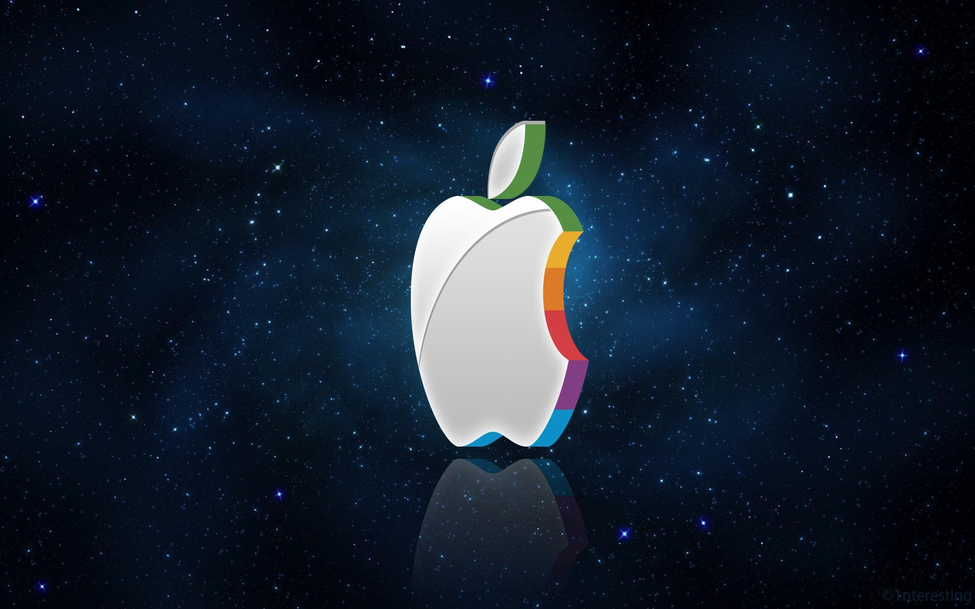 Apple 3D Wallpapers