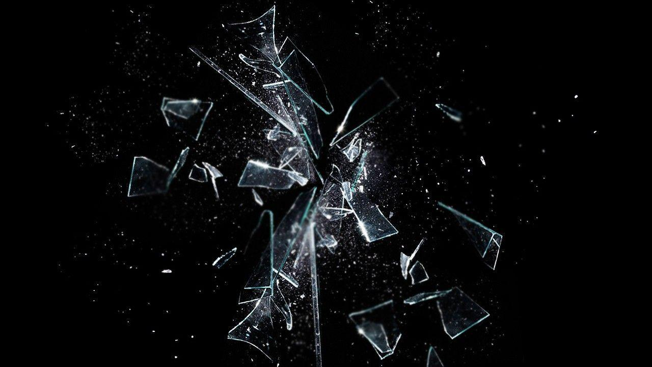 Broken Glass Backgroun...