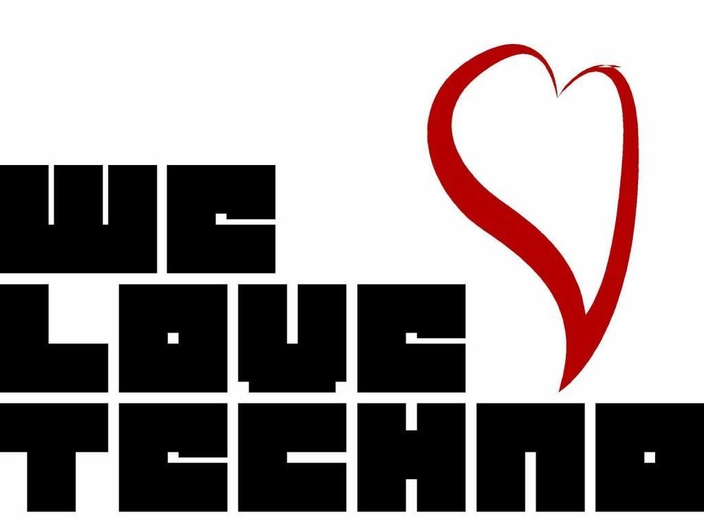 1024x768 We love Techno wallpaper, music and dance wallpapers