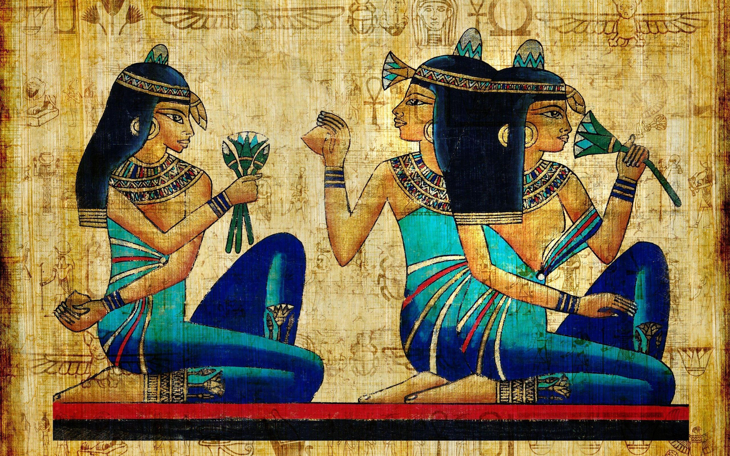Egyptian Wallpaper: Egyptian Painting Wallpapers