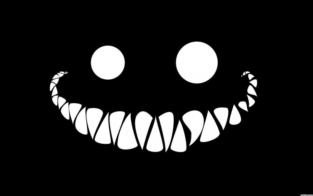 black smile