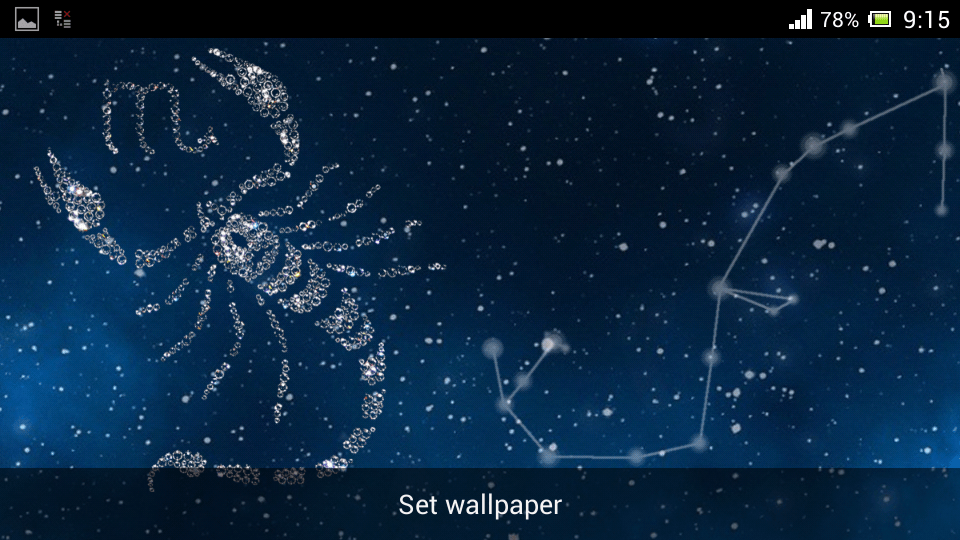 Zodiac Scorpio Live Wallpapers