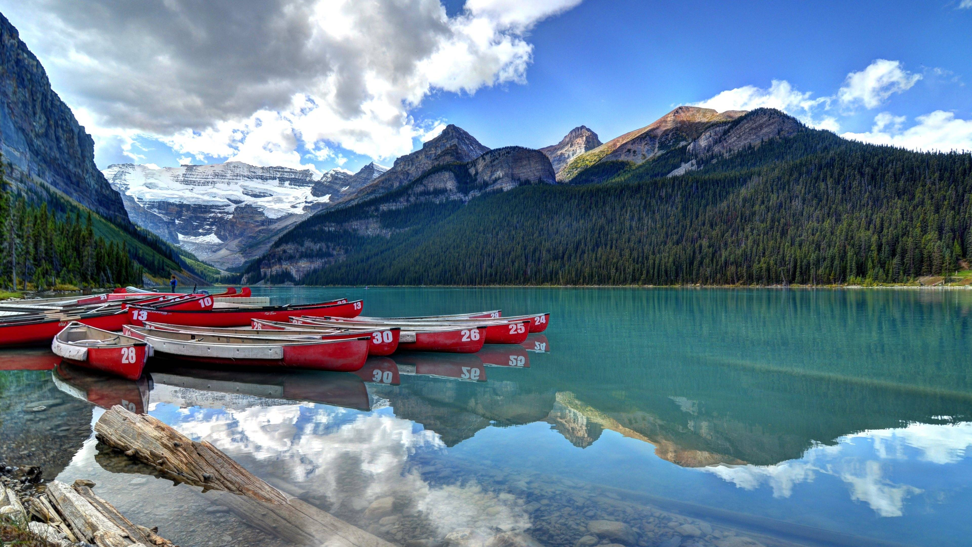Lake Louise Computer Wallpapers, Desktop Backgrounds 3840x2160 Id ..