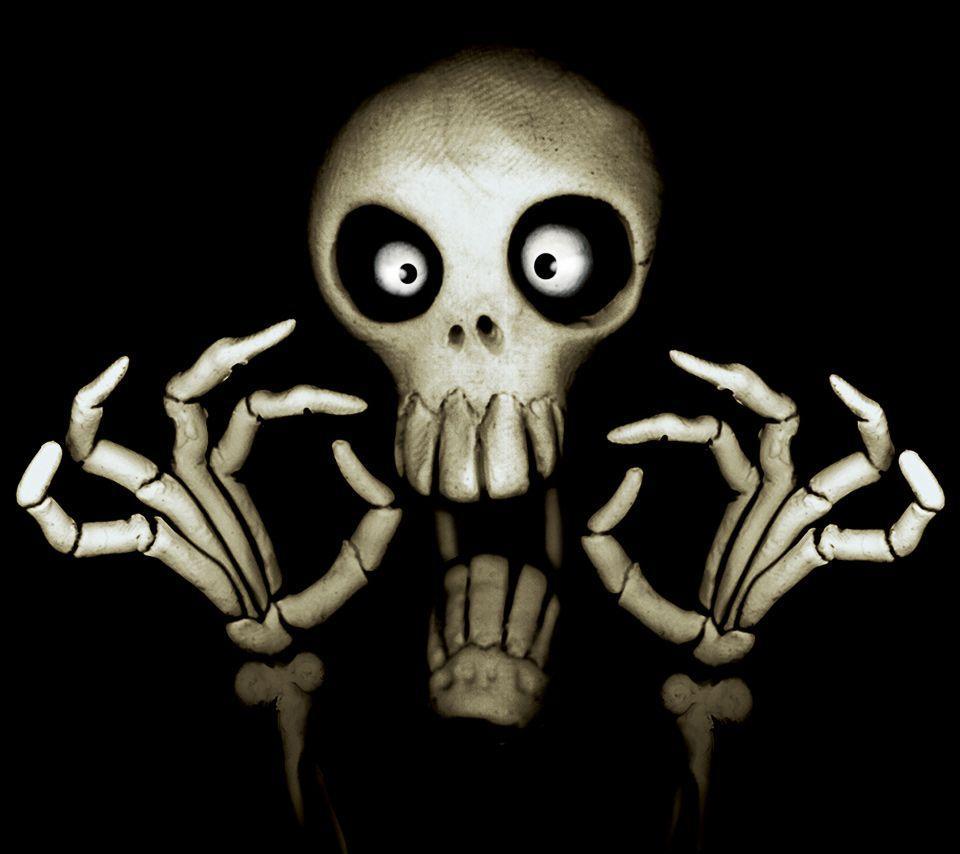 gallery for cute skull wallpaper hd