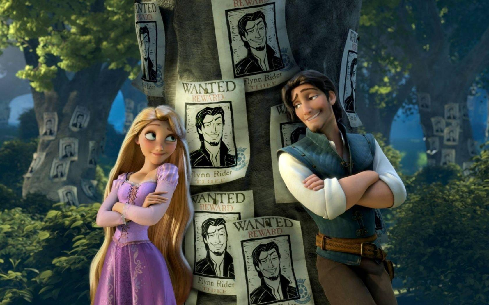 Pix For > Rapunzel Wallpaper