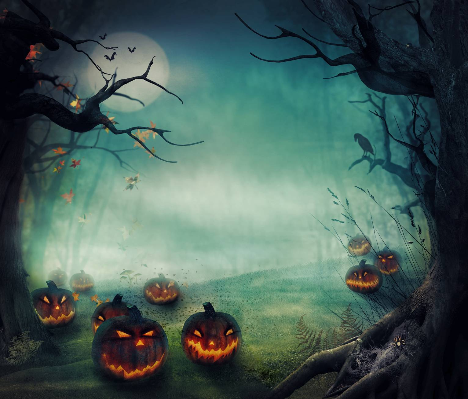 Scary Halloween Wallpapers - Wallpaper Cave