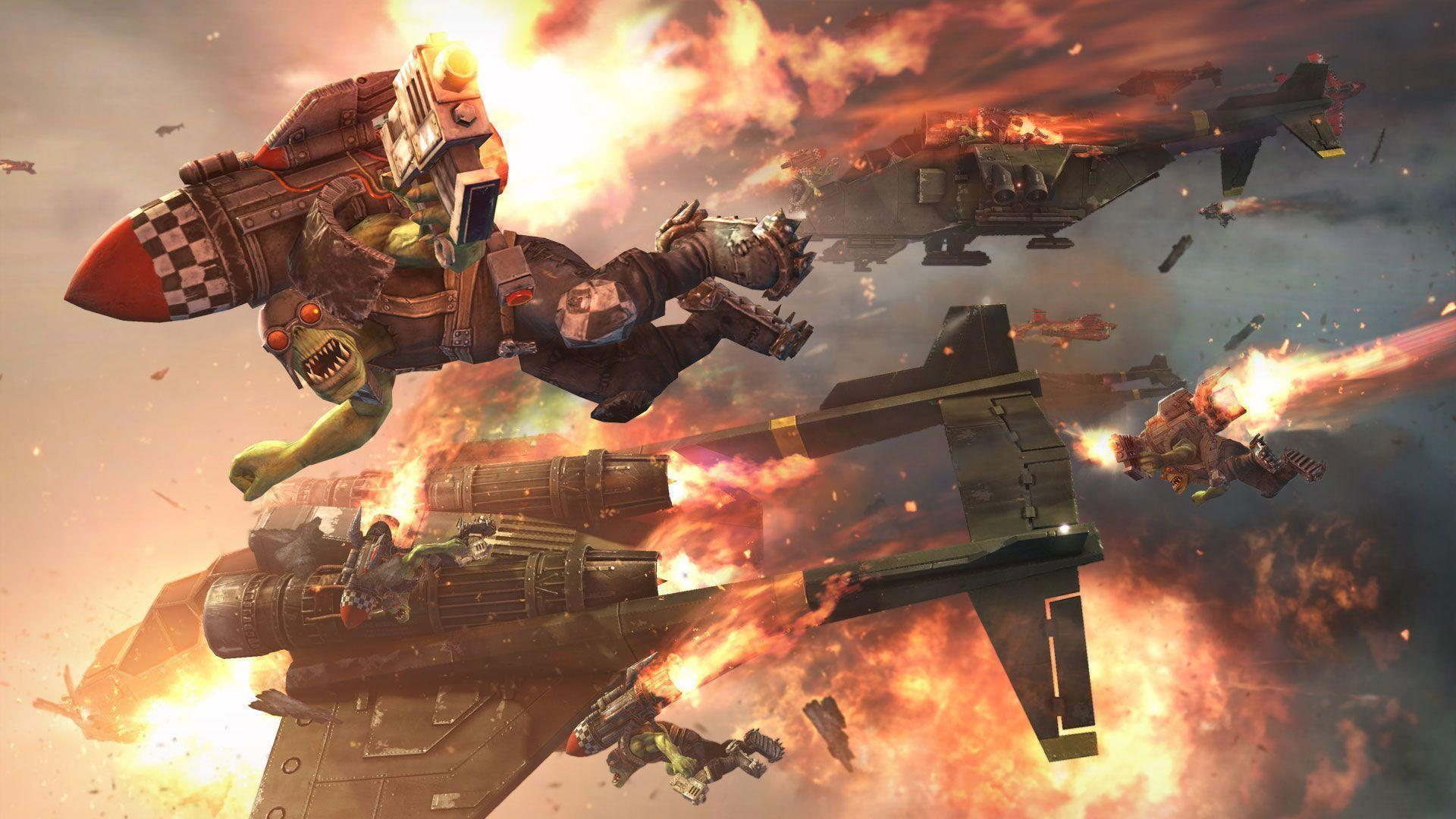 gallery for warhammer 40k orks wallpaper