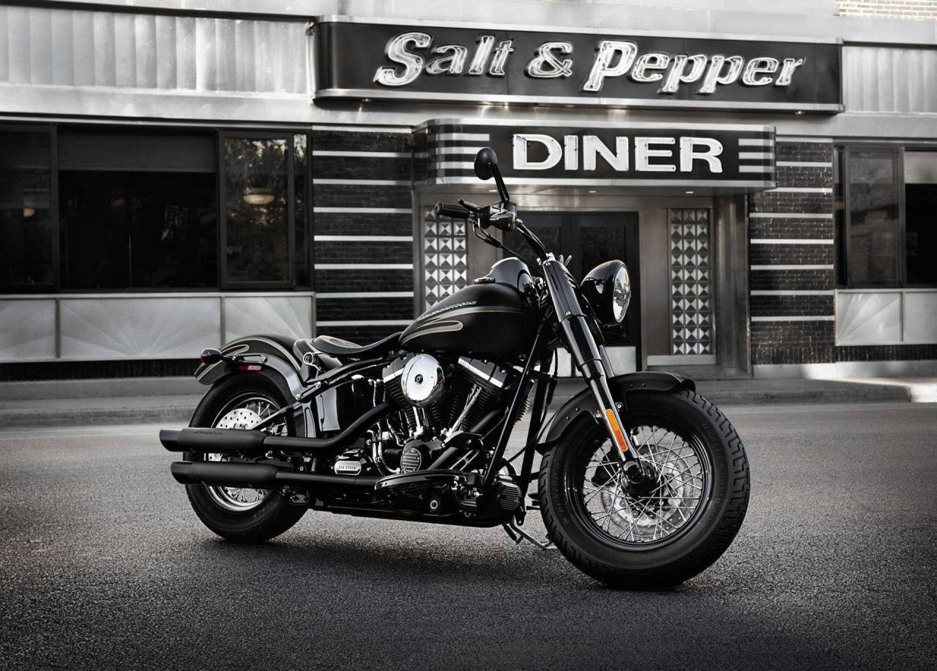 Black Harley Davidson Wallpaper 4241 Full HD Wallpaper Desktop ...