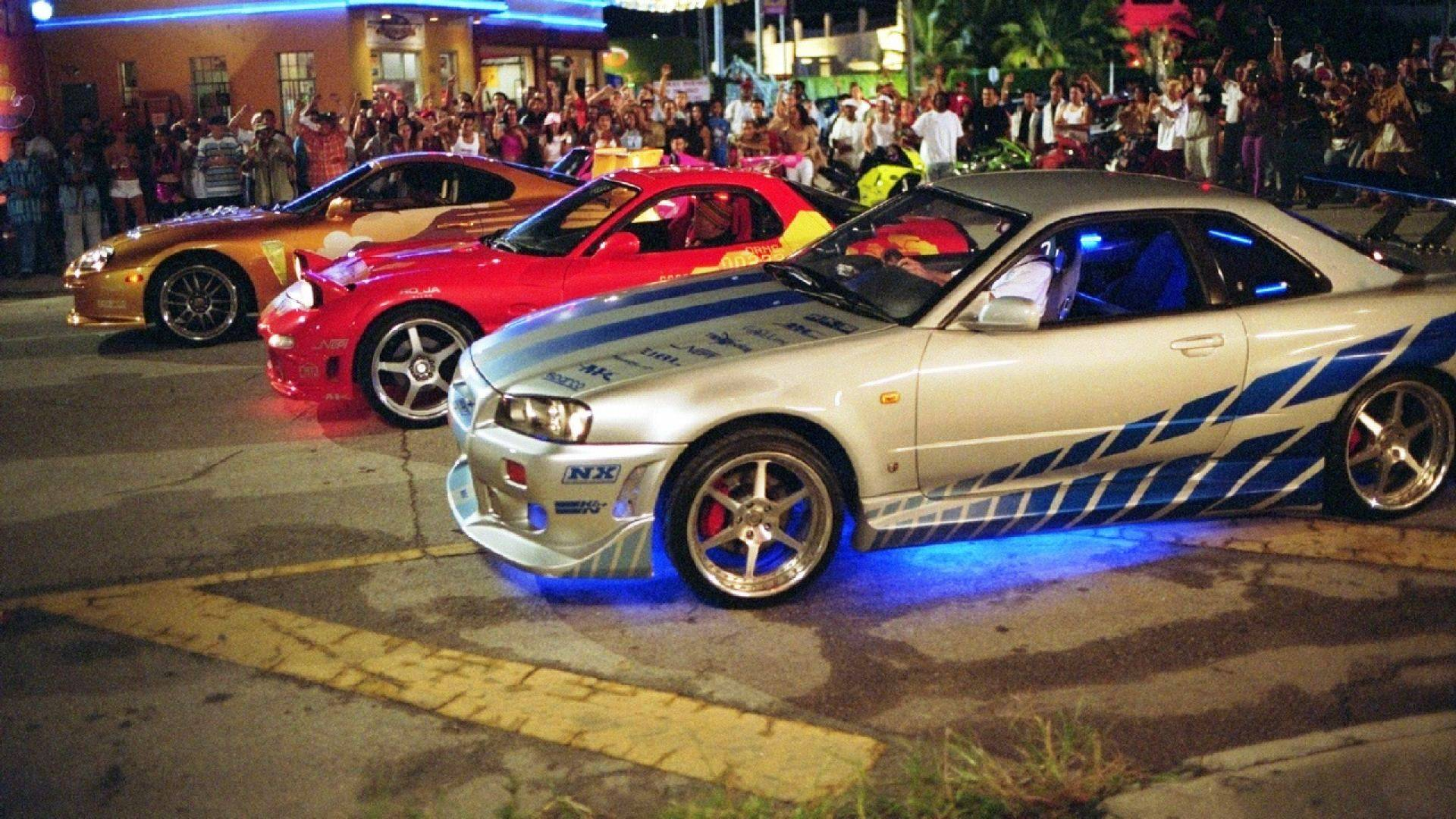 Fast And Furious Cars Start Race