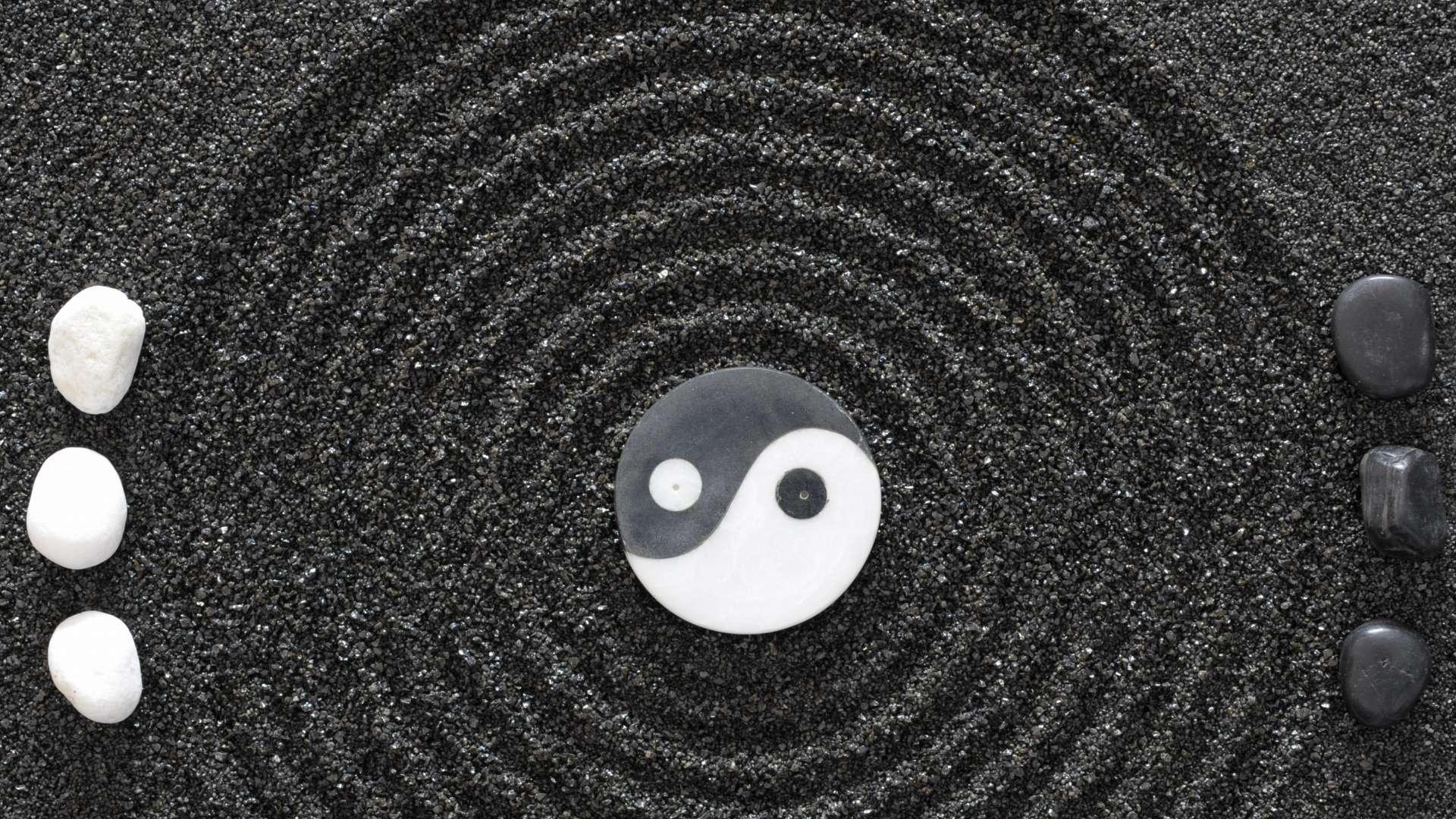 Yin Yang Backgrounds Wallpaper Cave