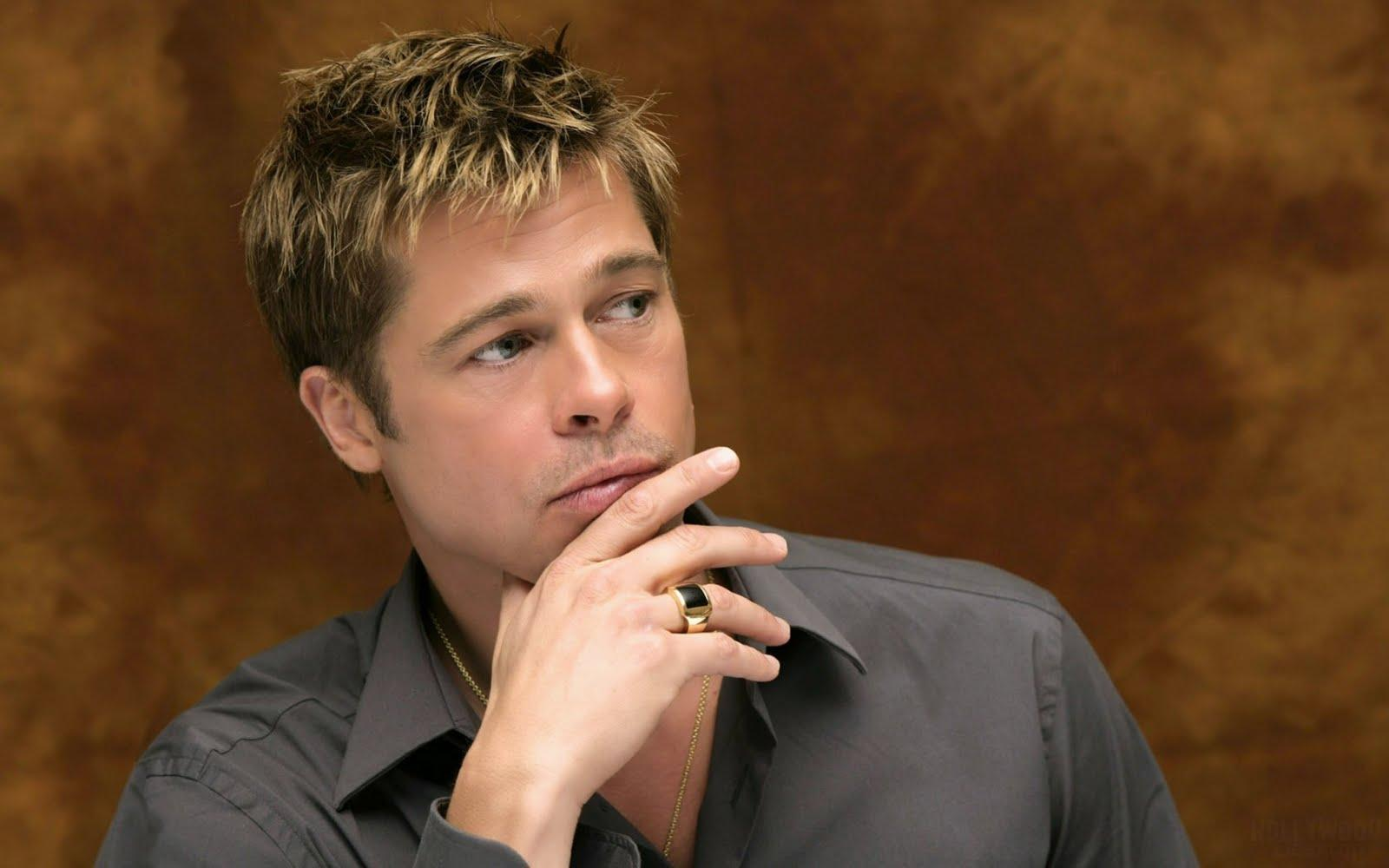 Brad Pitt HD Widescreen Wallpaper - Celebrities Powericare.com