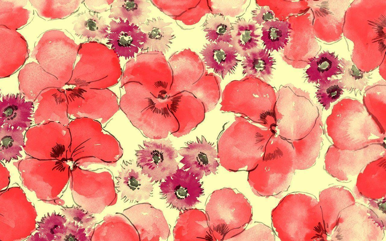 Flower illustrations Design - Flower Patterns - Flower Backgrounds ...