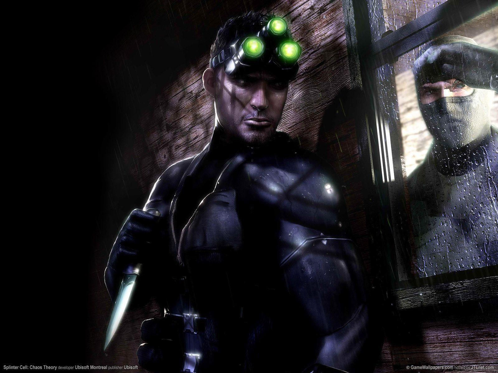 Splinter cell chaos theory wallpapers wallpaper cave - Chaos wallpaper ...