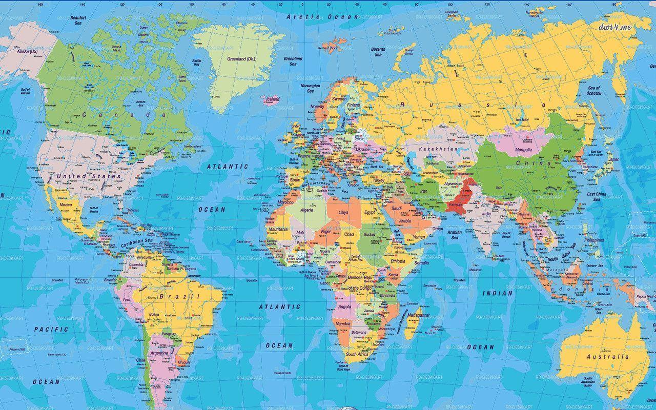 world map desktop wallpapers wallpaper cave