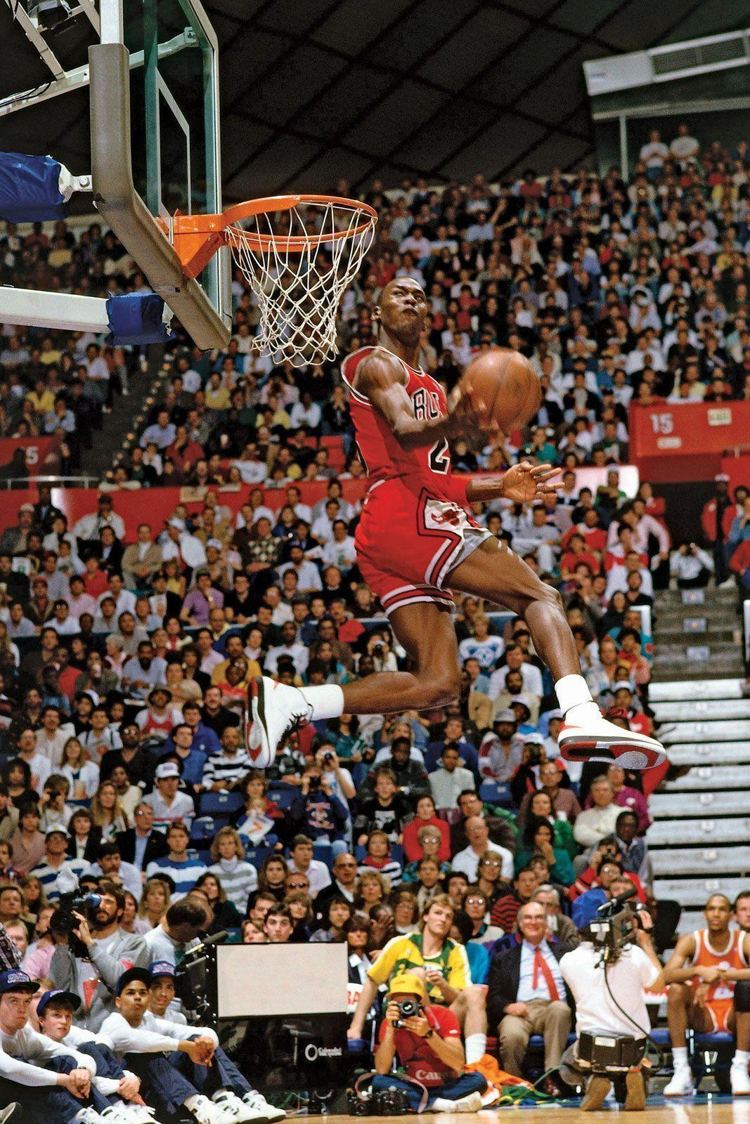 Michael Jordan Dunking Wallpapers - Wallpaper Cave