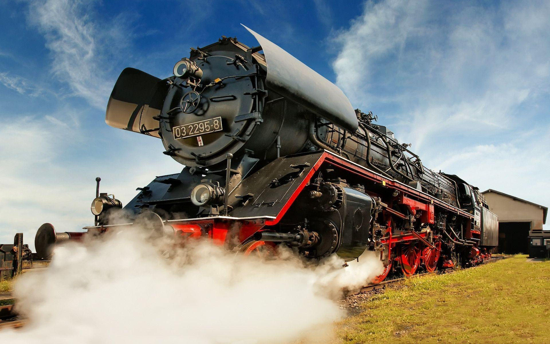 1920x1200 trains steam - photo #4
