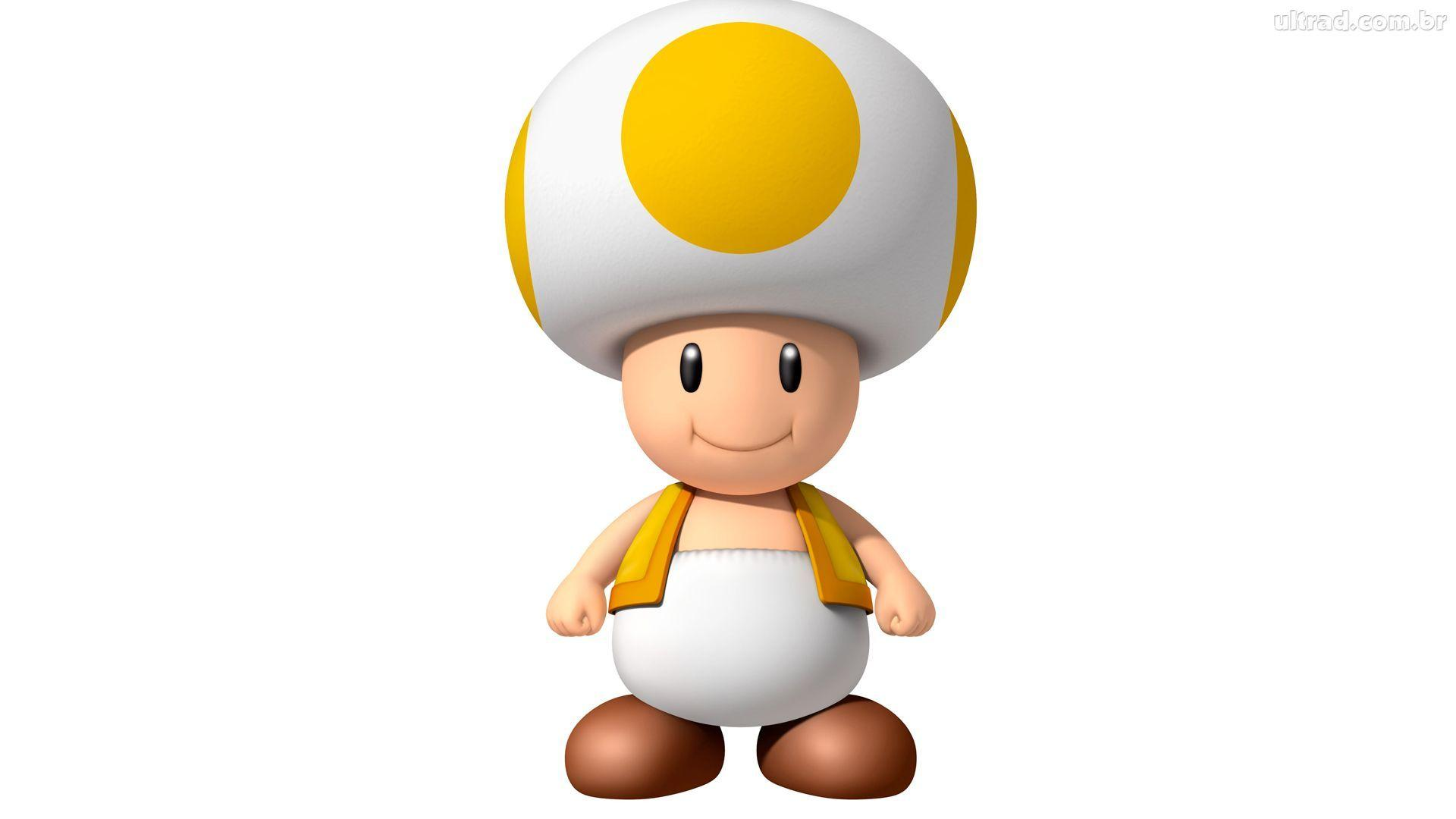 Mario Toad Wallpapers