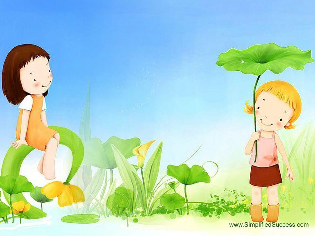 Kids computer wallpapers wallpaper cave - Cute cartoon hd images ...