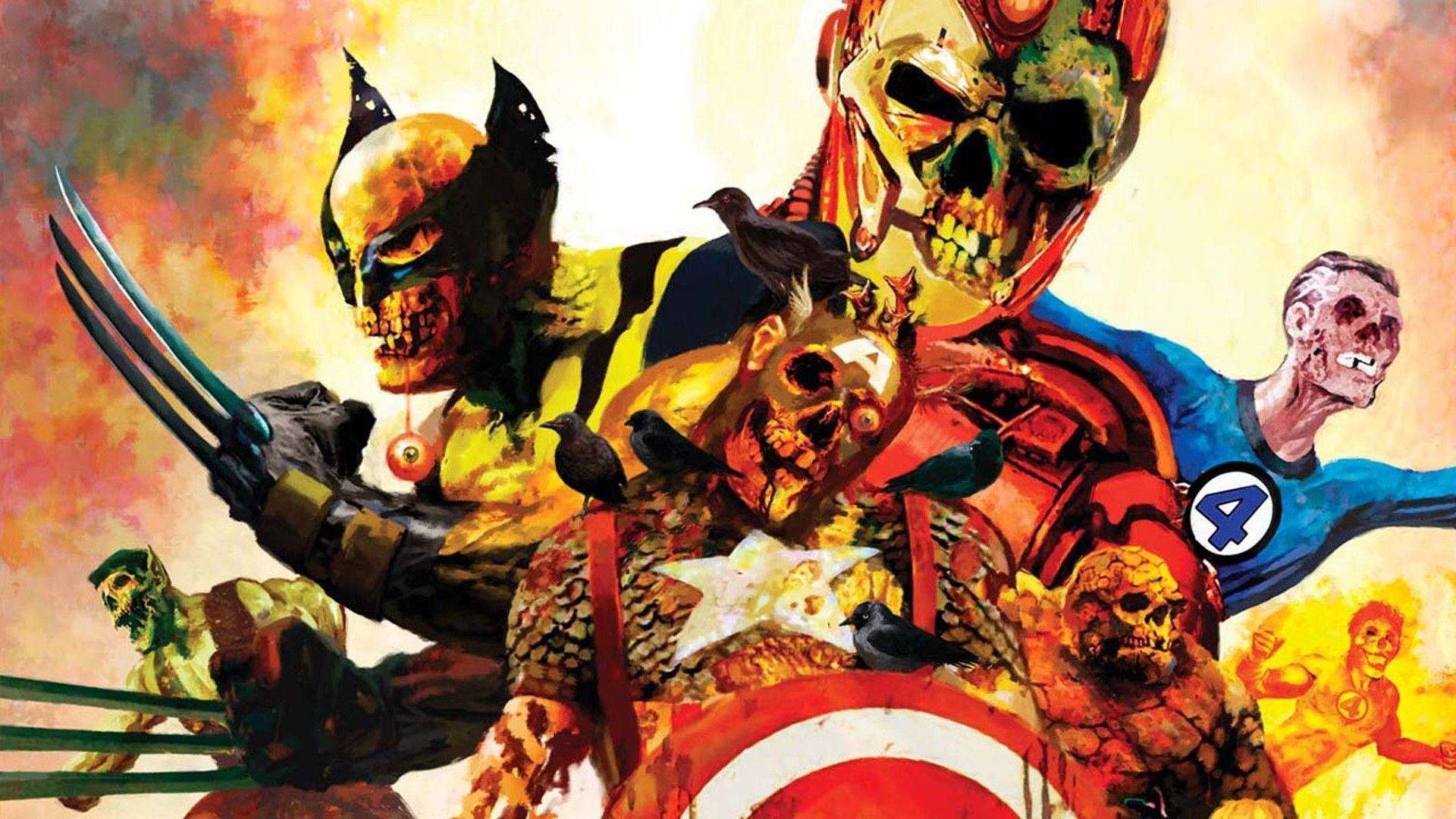 11 Marvel Zombies Wallpapers