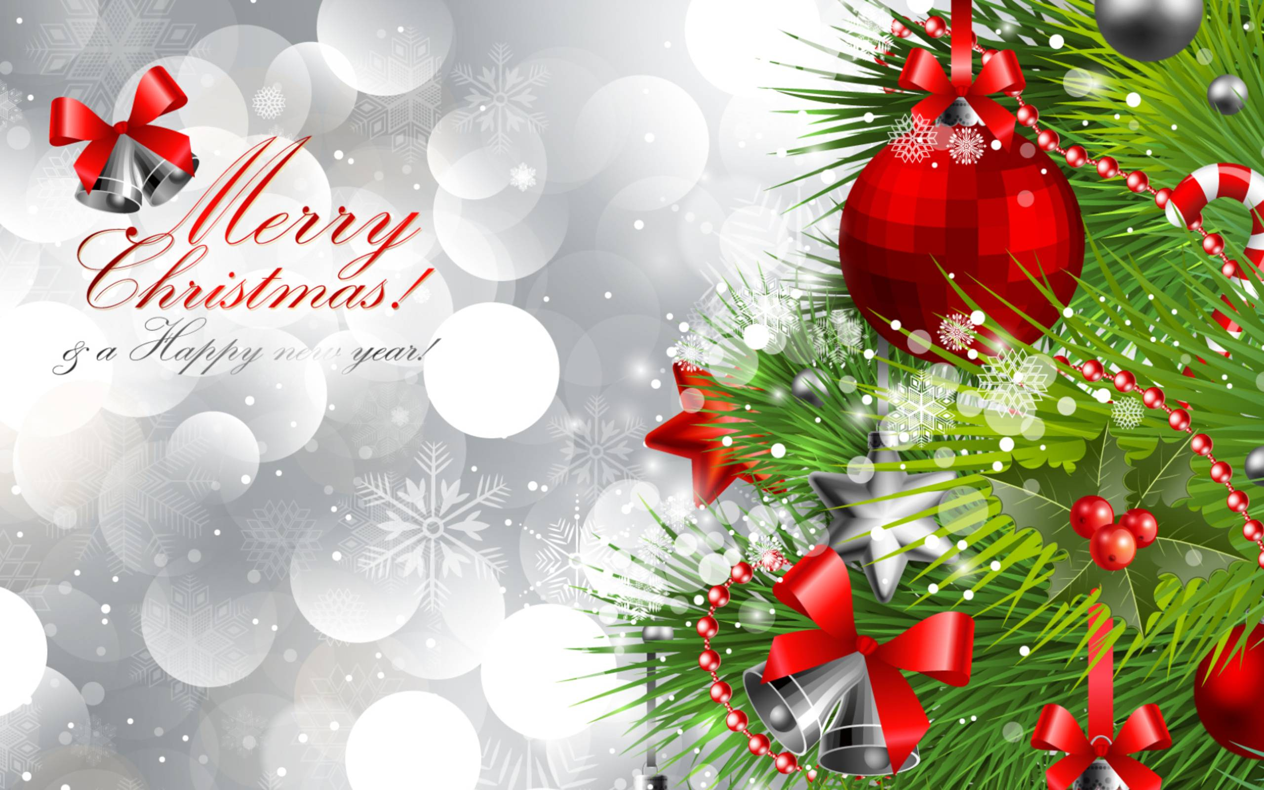 Wallpapers merry christmas, happy new year, christmas, happy new