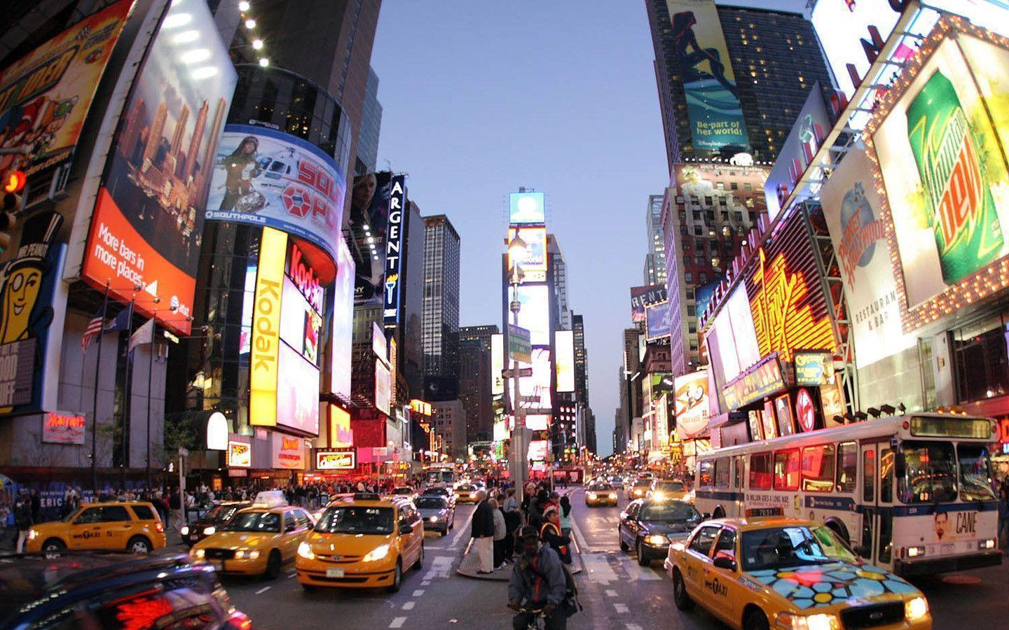New York Times Square Life wallpapers