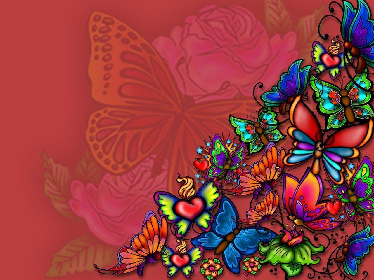 butterflies tattoo - Butterflies Wallpaper (18409603) - Fanpop