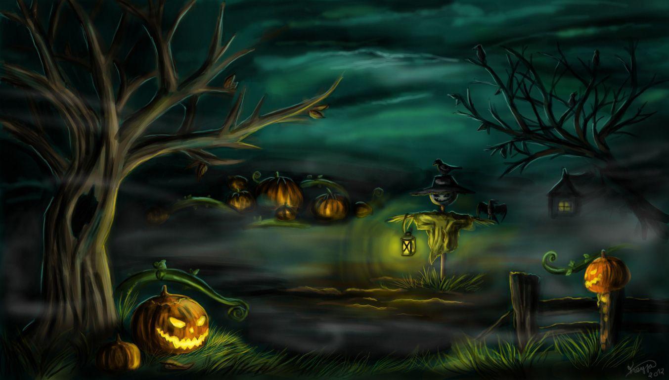 Ghastly Halloween 2013 Wallpapers   Blog Website Templates.bz