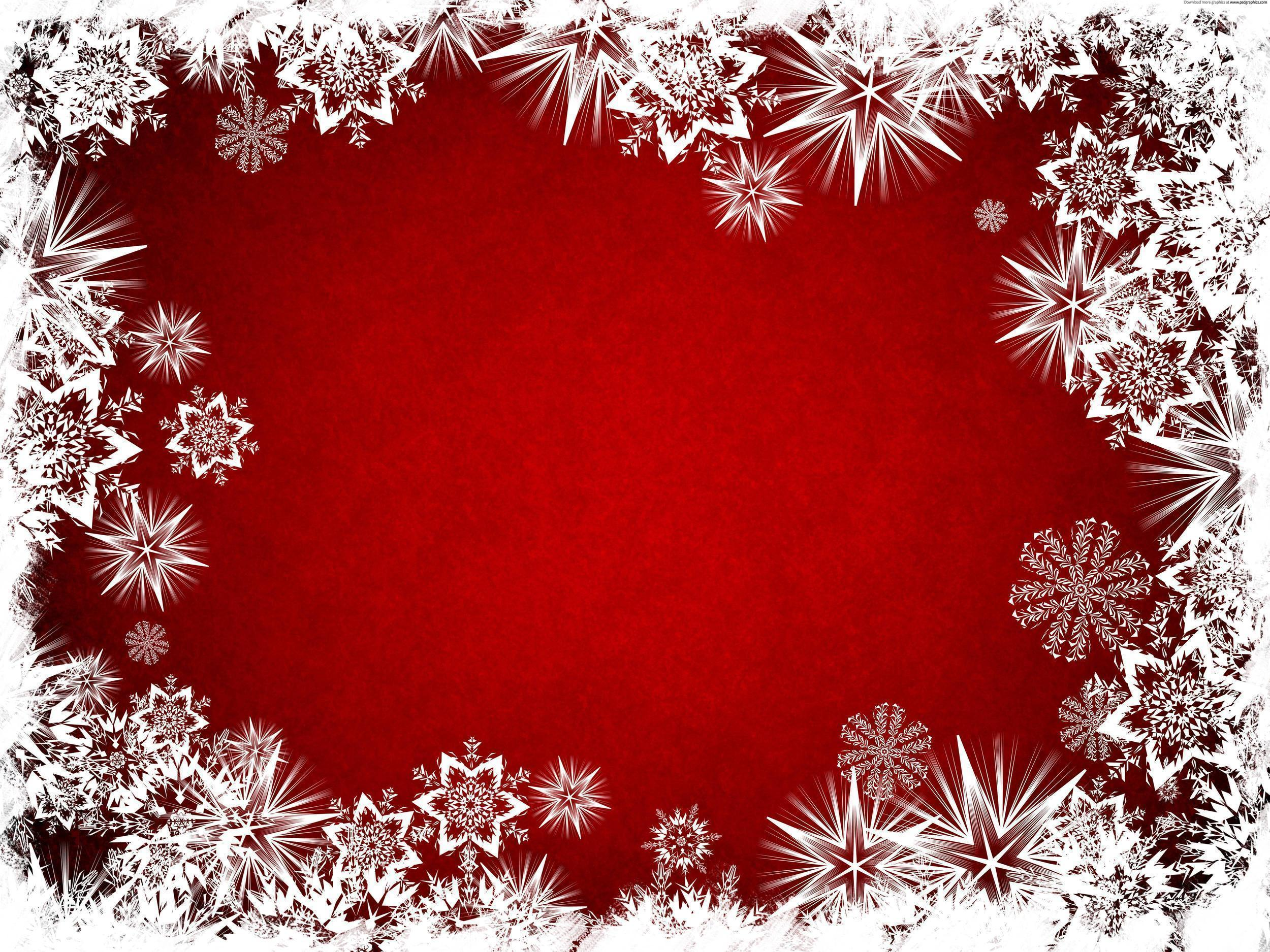 White stars on a red backgrounds on Christmas wallpapers and image