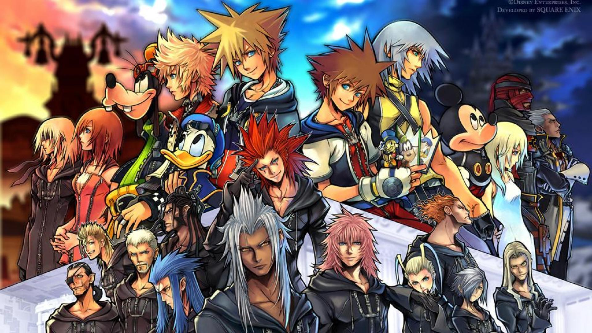 Wallpapers For > Kingdom Hearts Axel Wallpapers 1920x1080