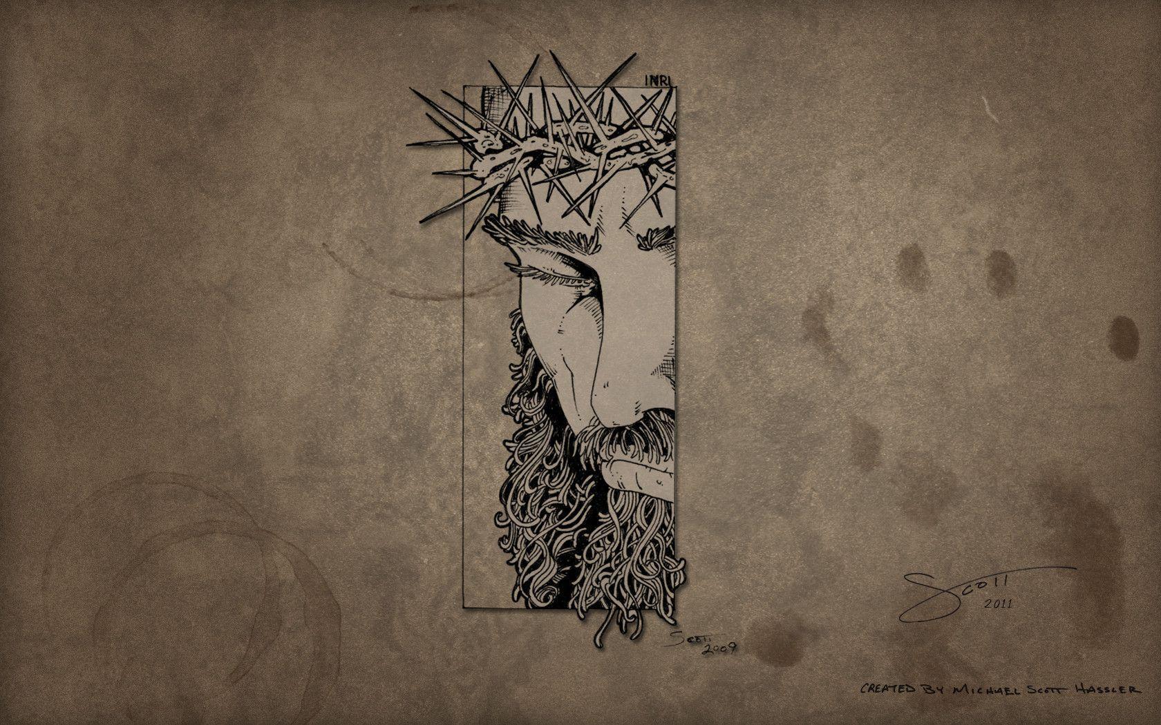 Jesus Wallpaper by hassified on DeviantArt