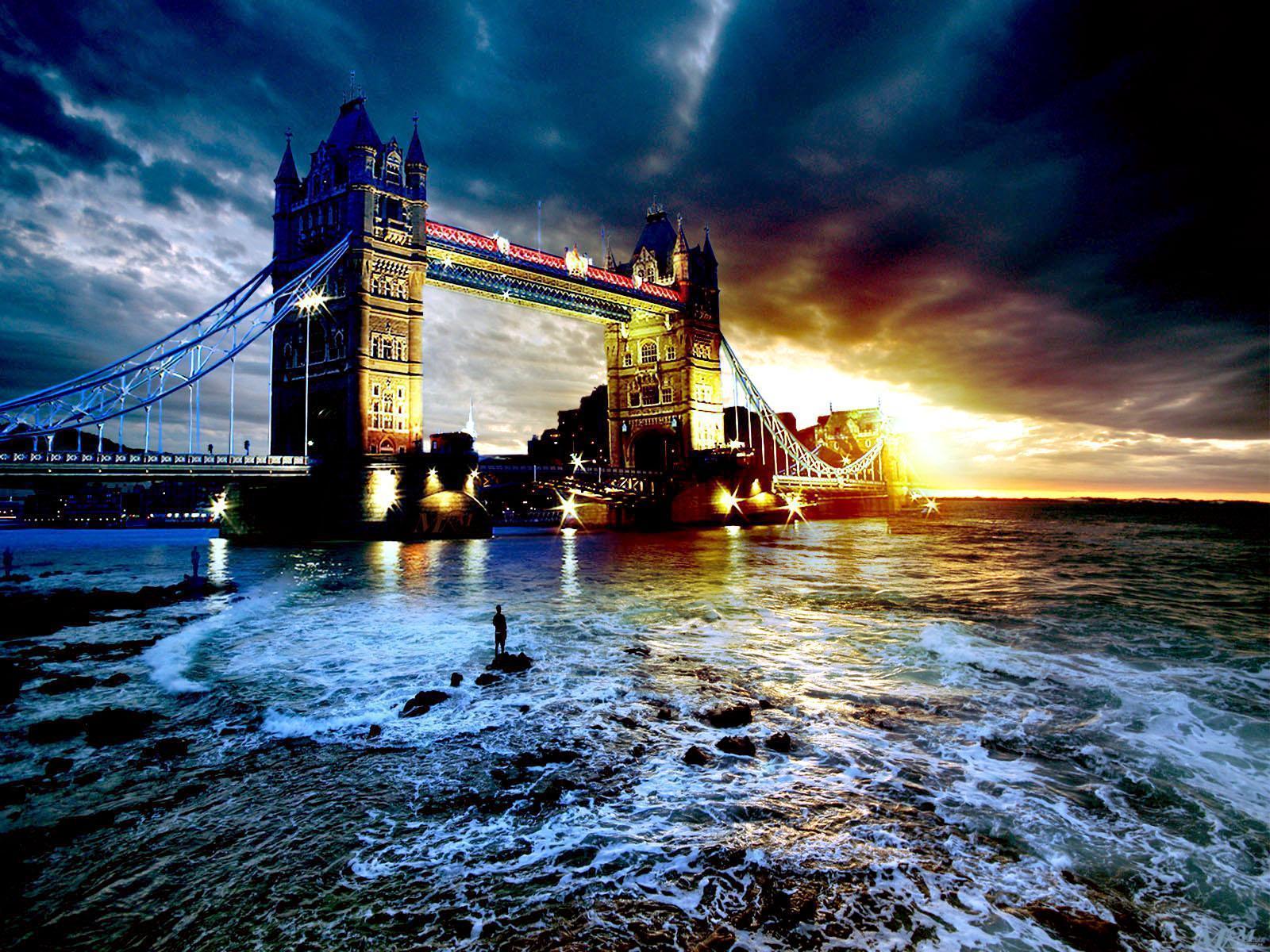 wallpaper bridge london scenic - photo #17