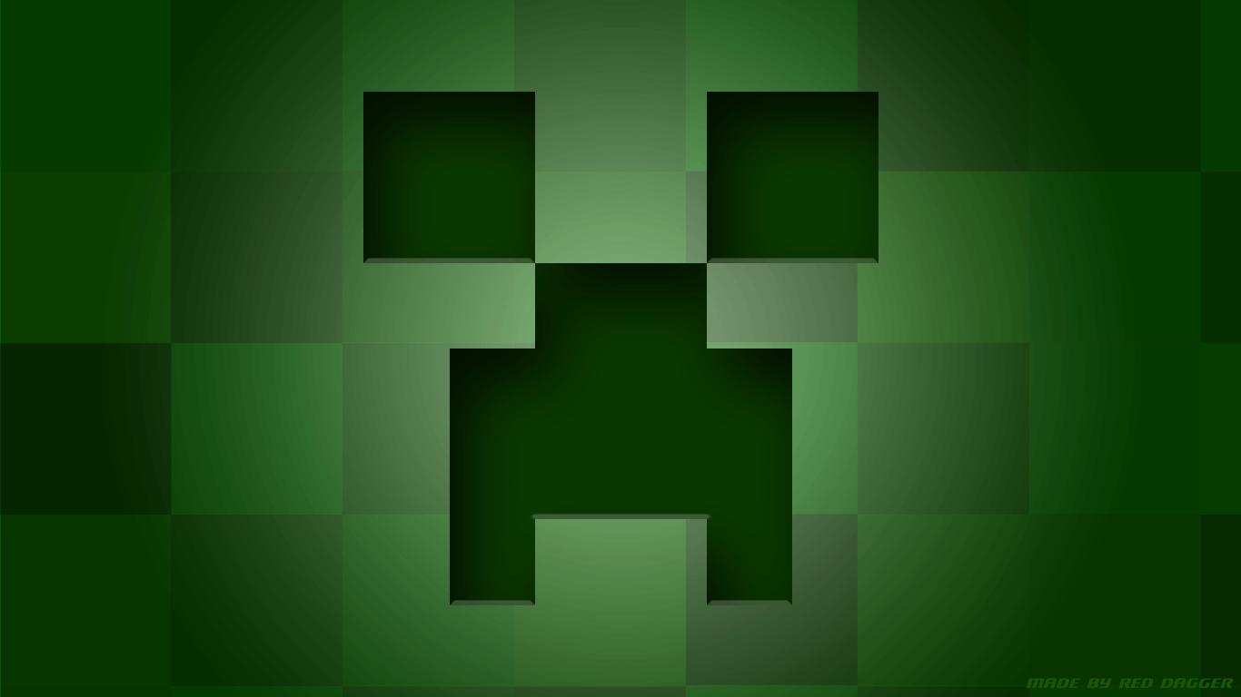 Creeper Face Wallpaper