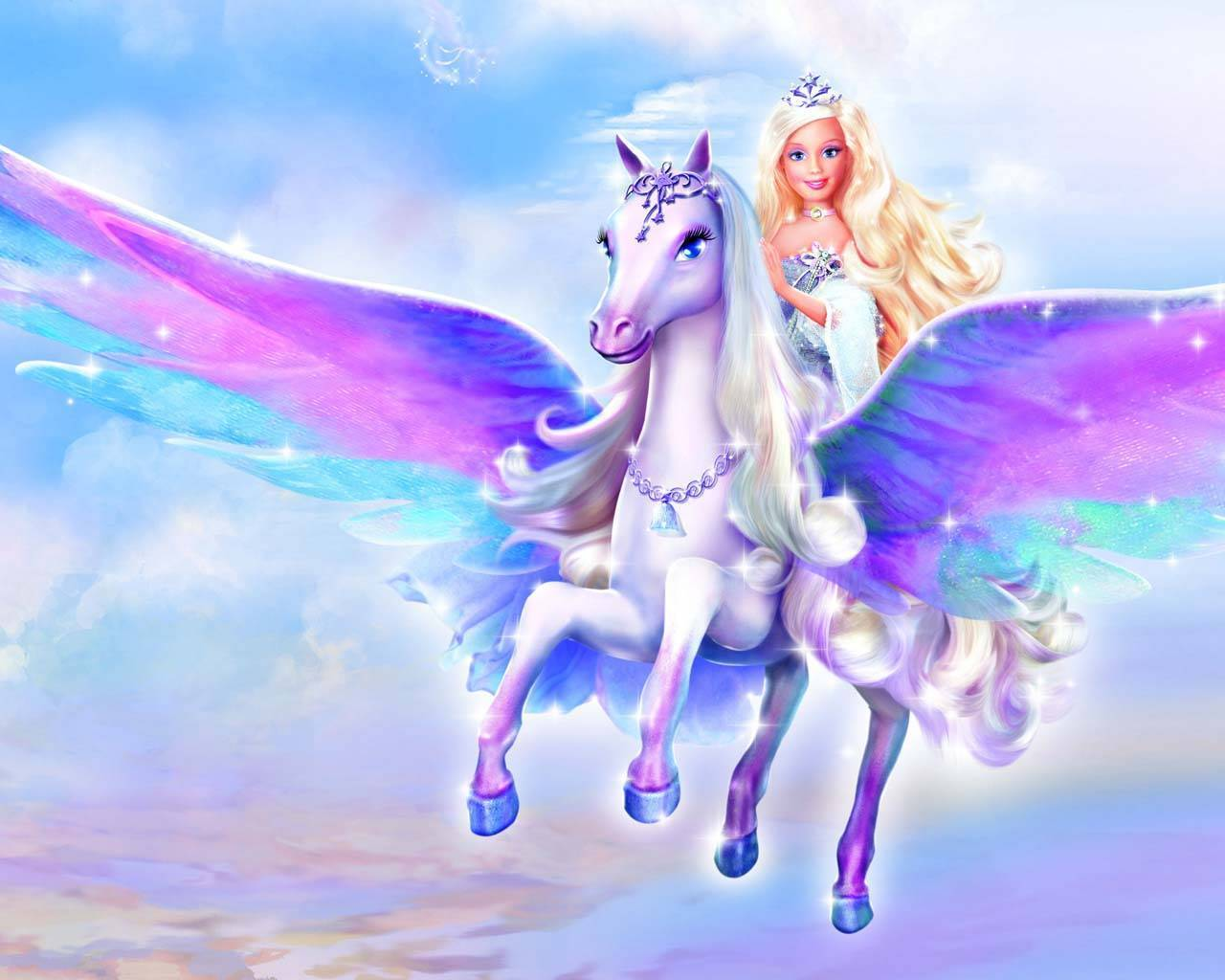 Barbie Magic Of The Pegasus - Barbie Princess Wallpaper (31680801 ...