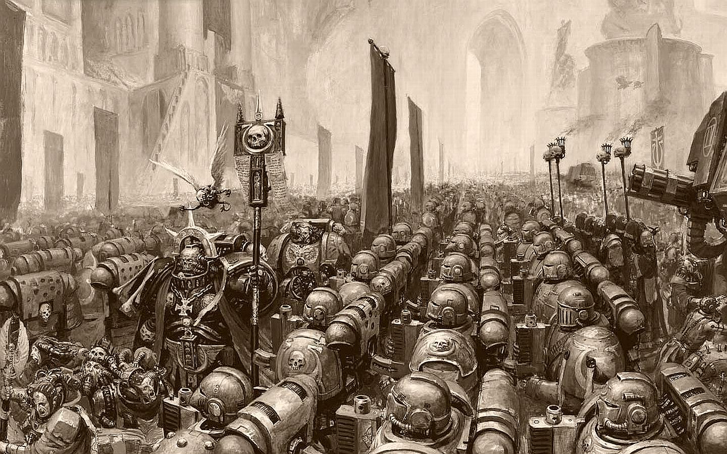 Image For > Space Marine Chaplain Wallpapers