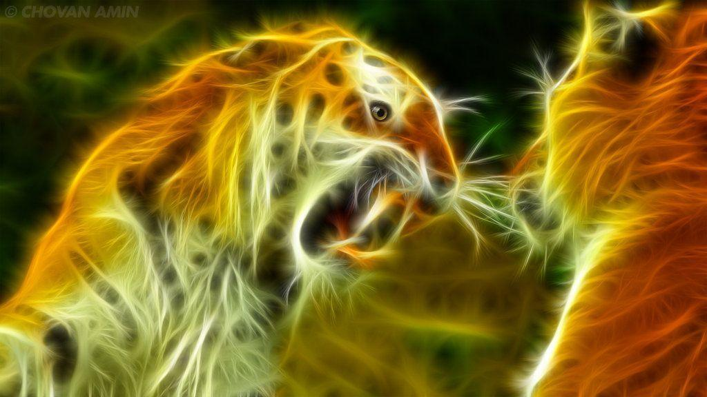 Cool Tiger Wallpapers Light