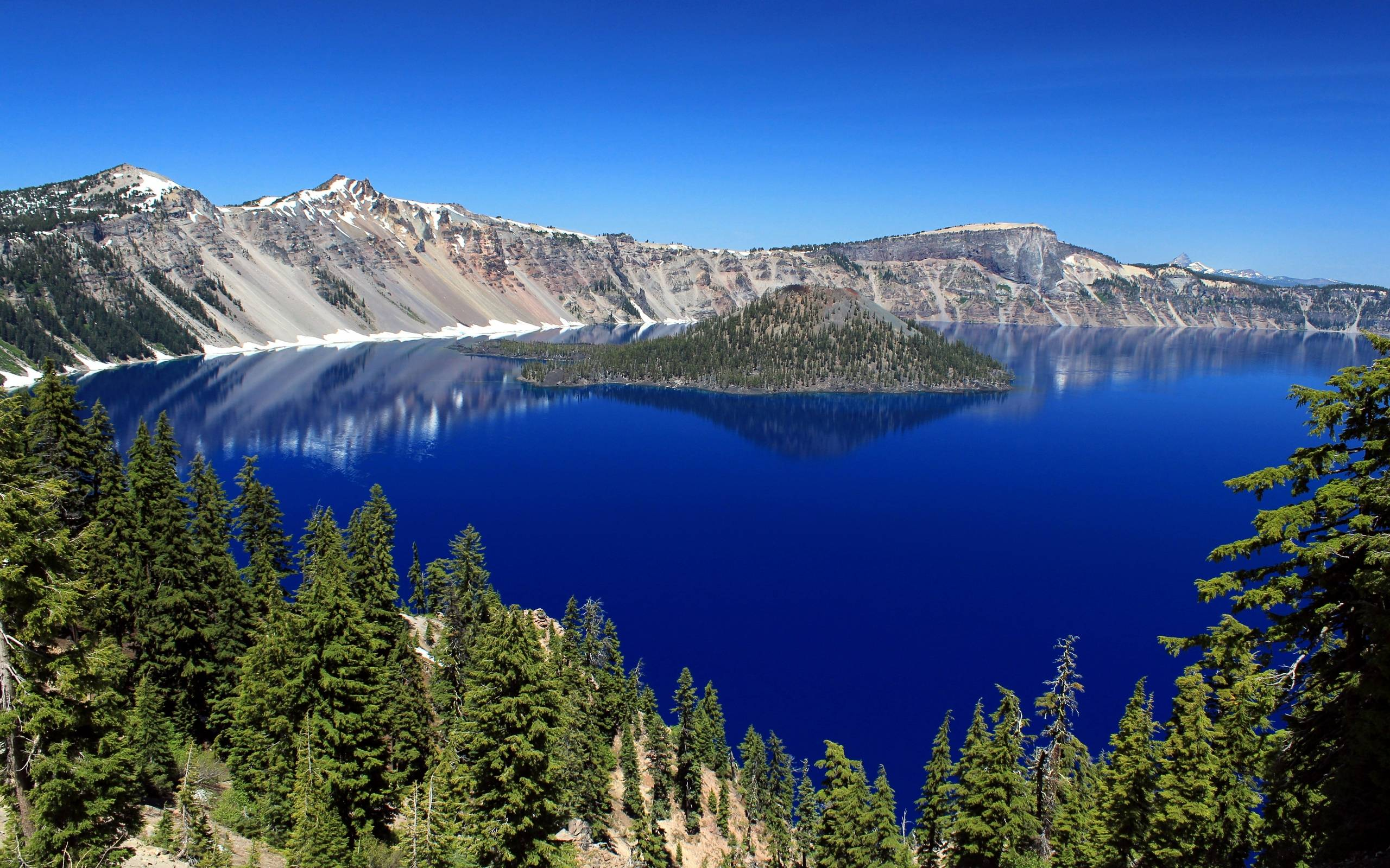 Crater lake wallpapers wallpaper cave for Free fishing spots near me