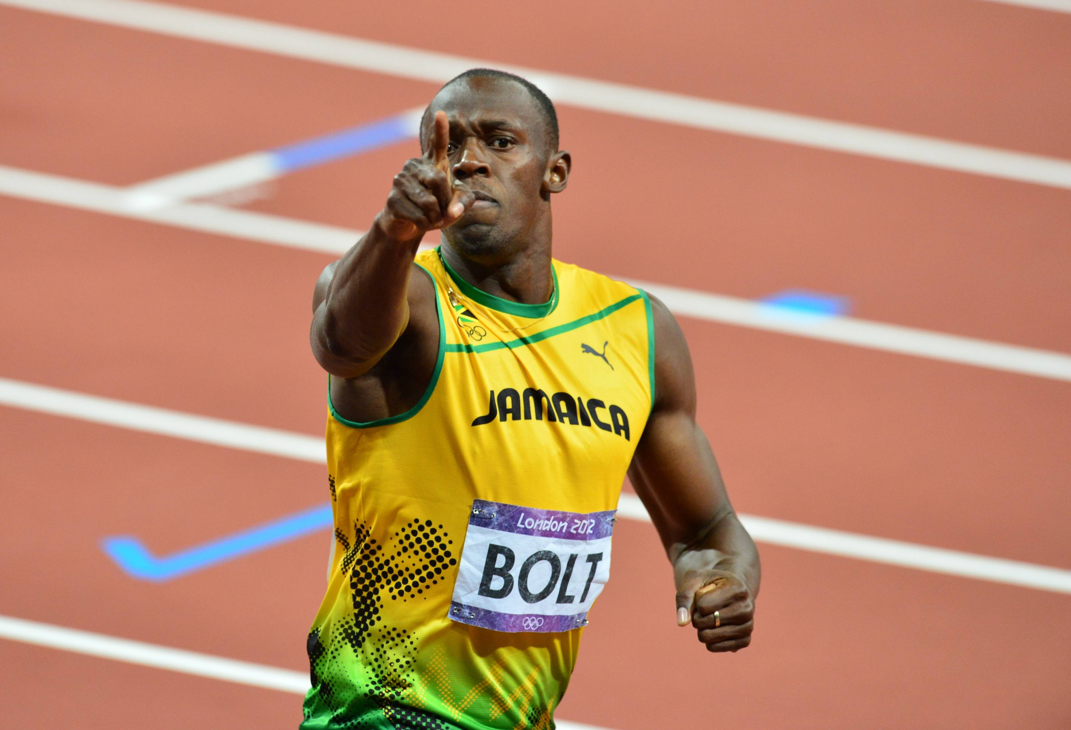 Images For Usain Bolt Running
