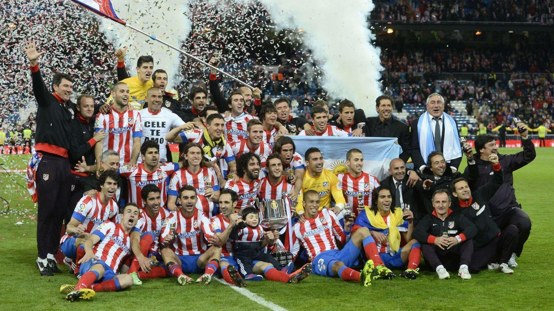 Atletico Madrid Copa Del Rey Champions 2013 HD Wallpapers
