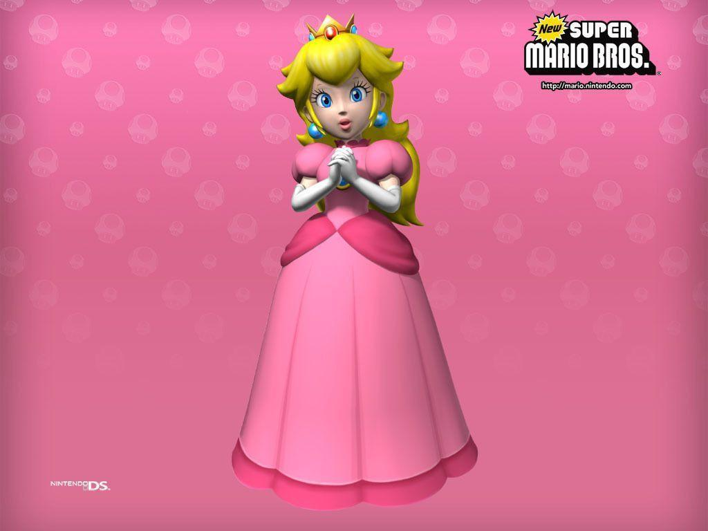 Coloring Pages Princess Peach : Princess peach wallpapers wallpaper cave