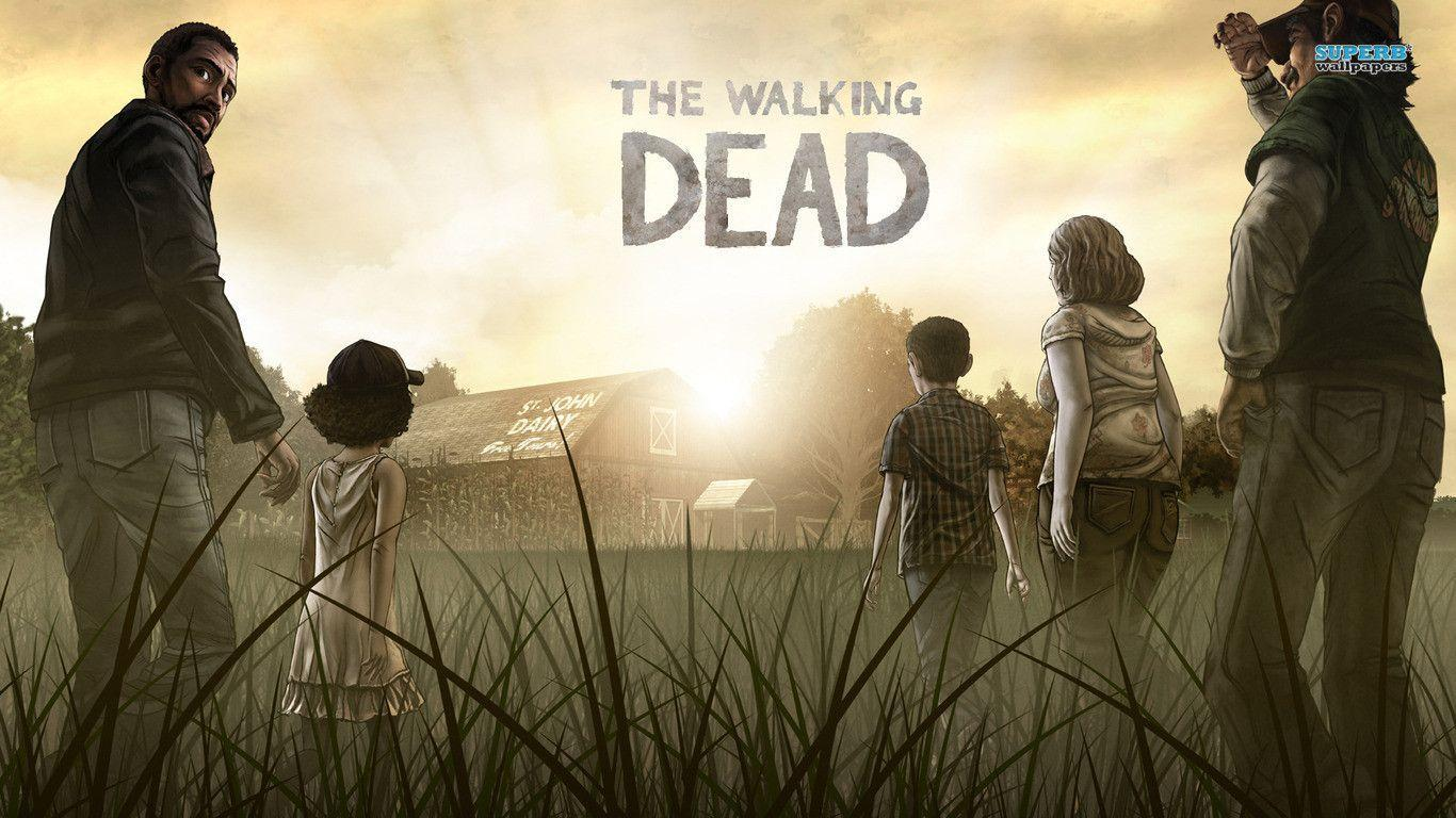Walking Dead Wallpapers For Android: The Walking Dead Wallpapers 1366x768