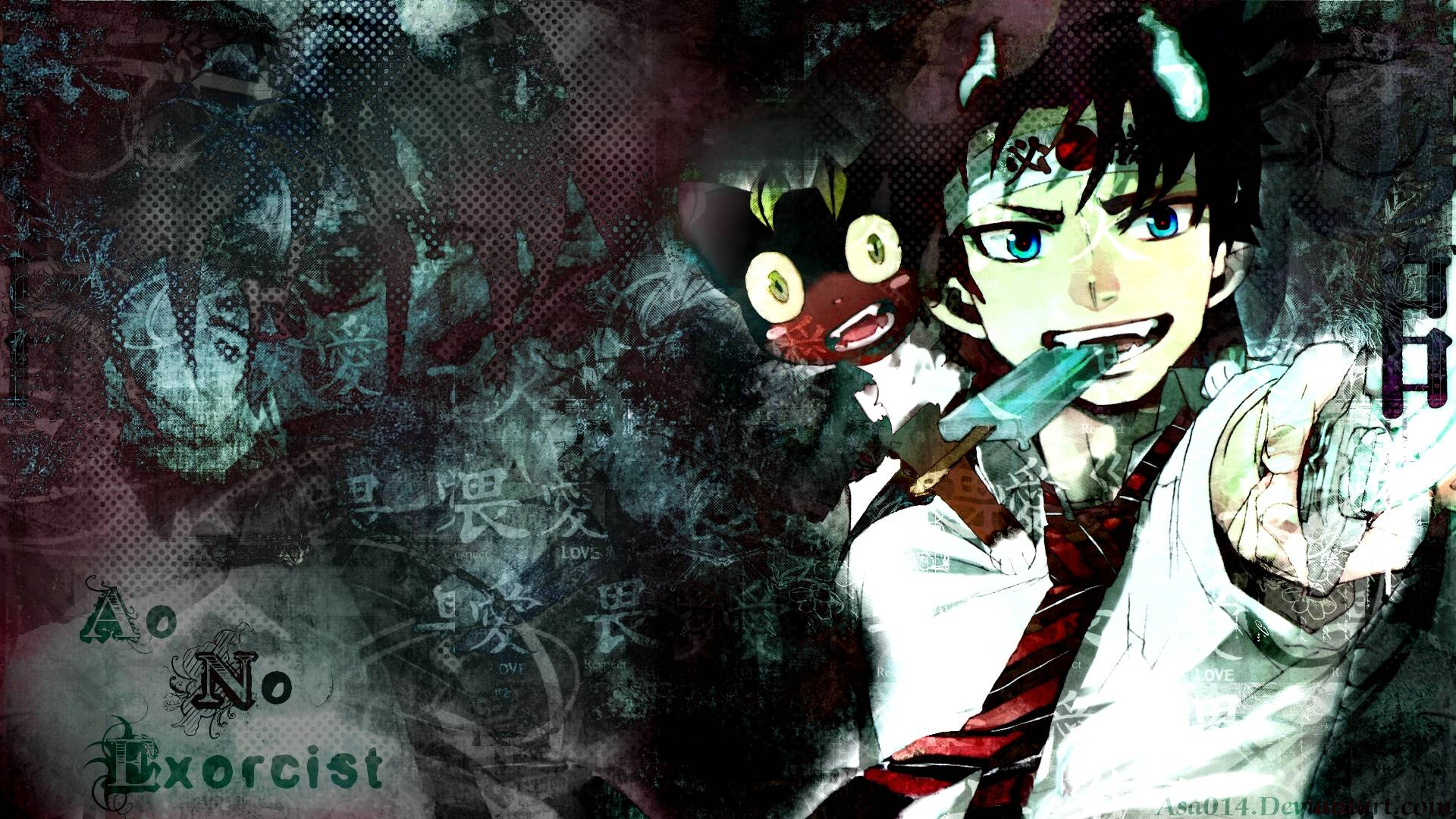 epic blue exorcist wallpaper - photo #30