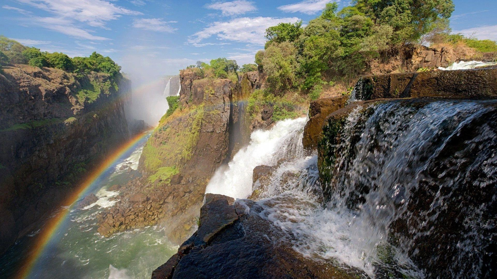 1920x1080 Zambezi river victoria falls Wallpapers