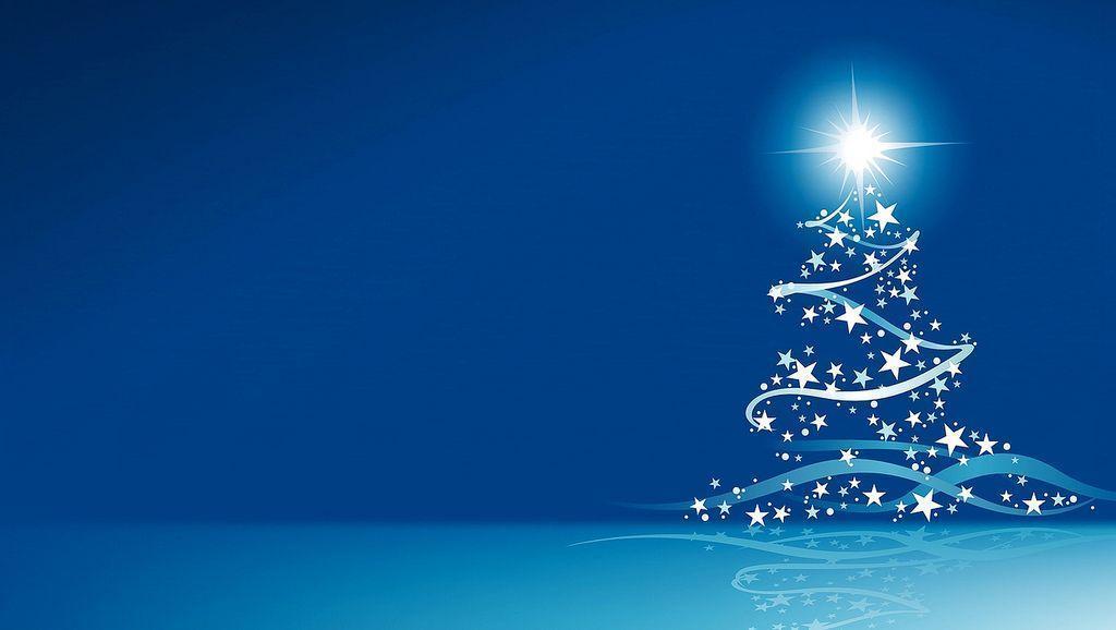 A Blue Christmas Wallpaper Christmas Screensavers And Christmas