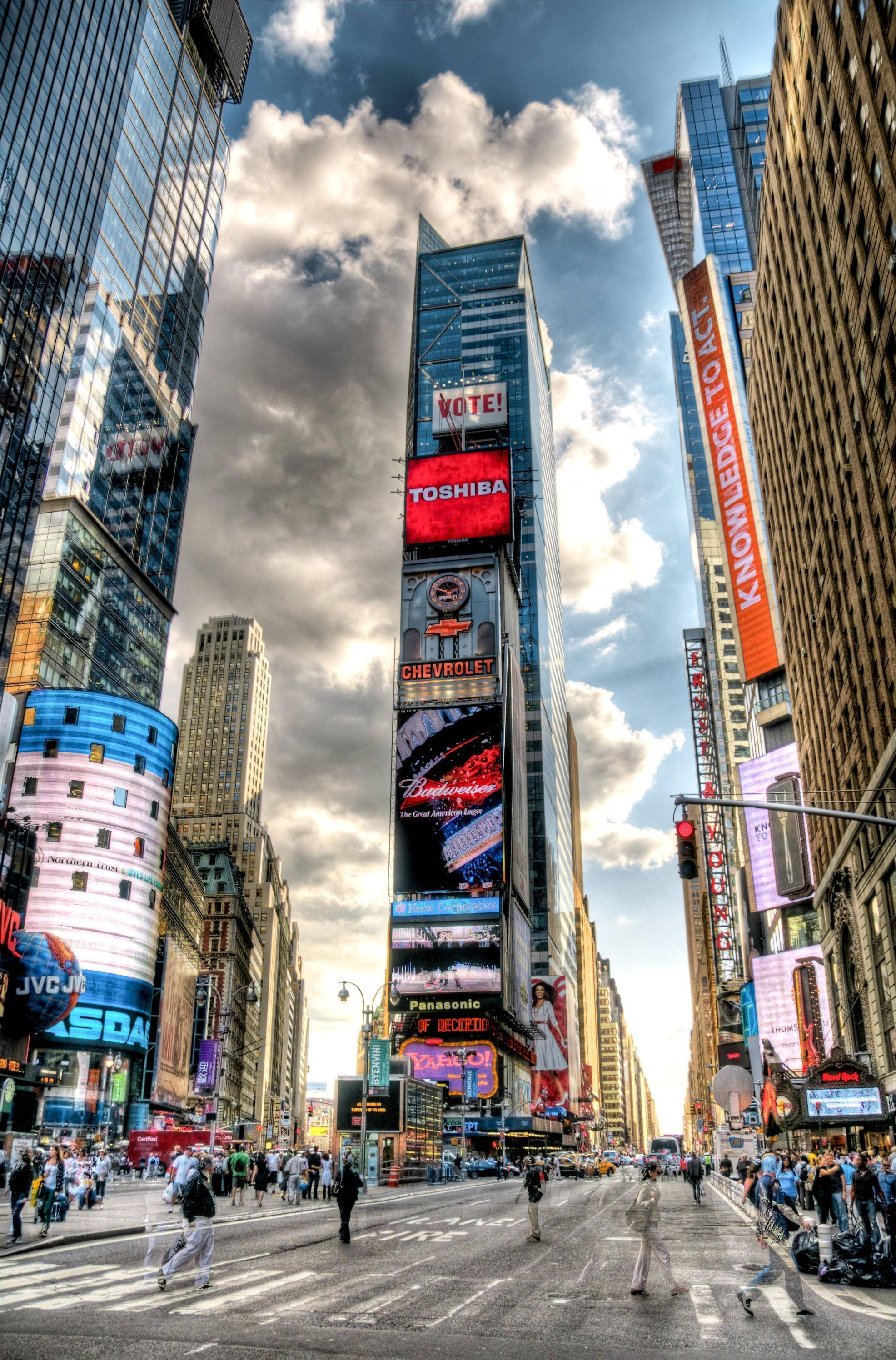 Images For > Times Square Wallpaper Iphone