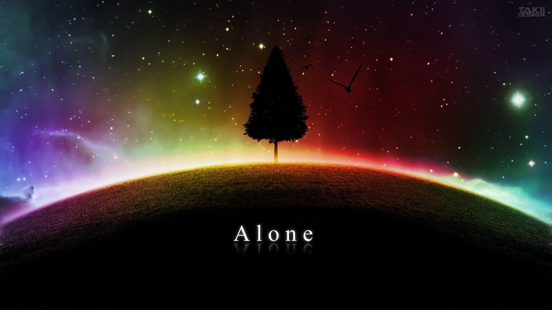 Alone Wallpaper