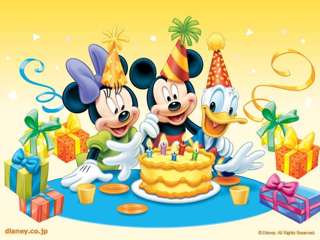 Disney Birthday Wallpaper - Disney Wallpaper (6229350) - Fanpop