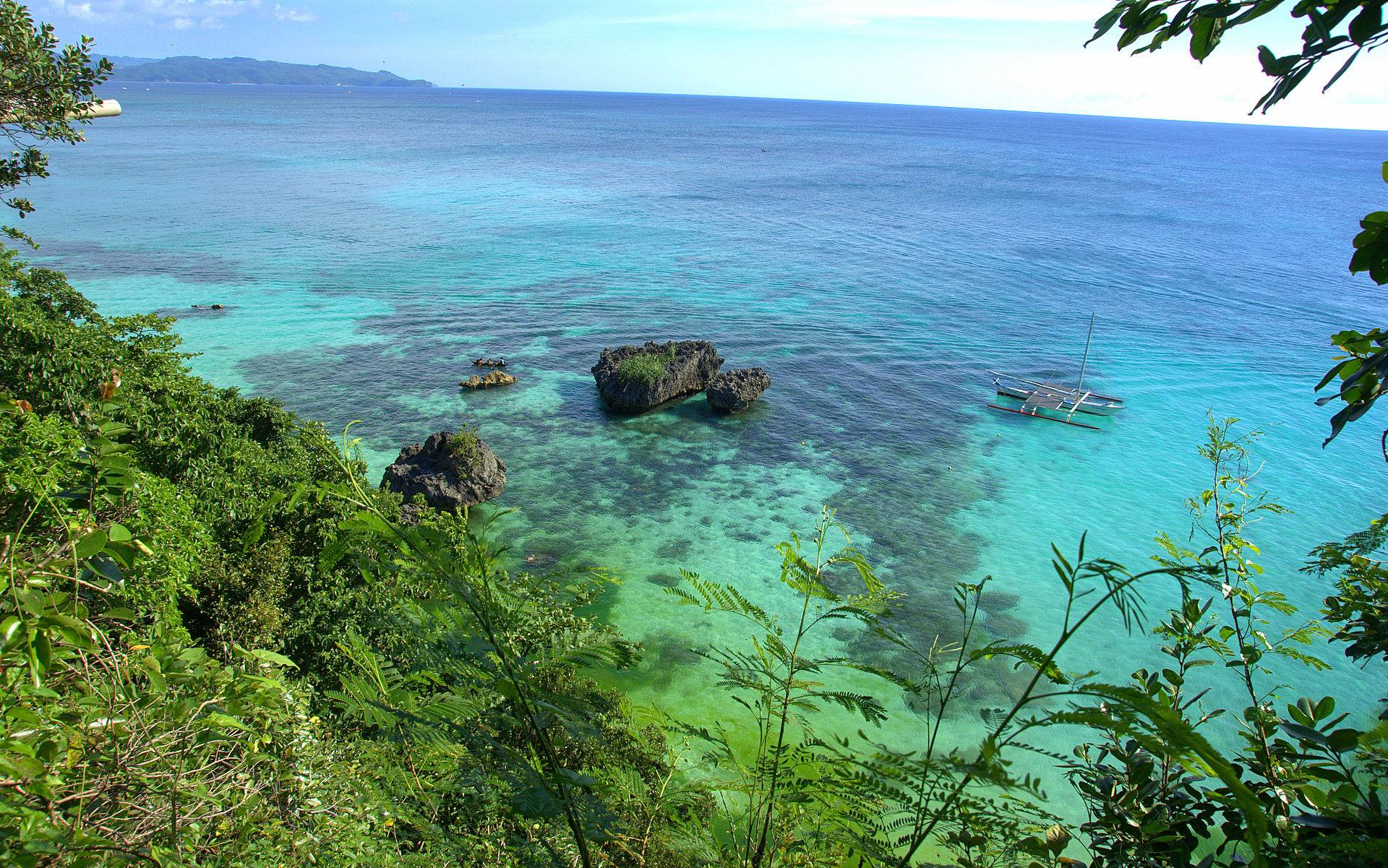 Hd Tropical Island Beach Paradise Wallpapers And Backgrounds: Tropical Island Desktop Backgrounds