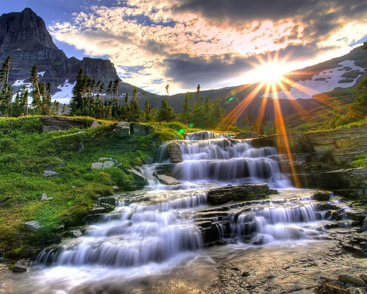 Nature Waterfall Wallpapers